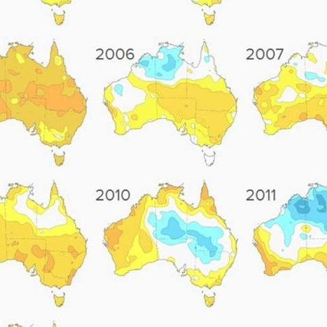 Interactive: 100 years of temperatures in Australia | SJC Science | Scoop.it