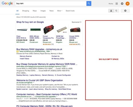 Google kills right-hand PPC ads: How should marketers respond? | Everything You Need To Know For Digital, Social & Search Marketing | Scoop.it