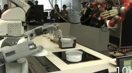 TUM robots 'Kinect' to sandwiches and popcorn | Food Automation And Supermarket Warehouses | Scoop.it