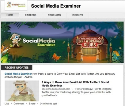 LinkedIn Marketing: New Features to Enhance Your LinkedIn Results | Social Media Examiner | Animation in Jordan | Scoop.it