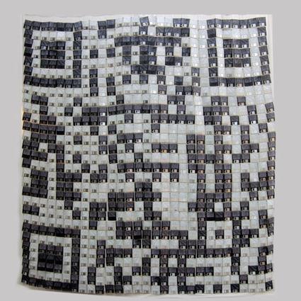 Floppy Disk QR Code by Flavio Tosi « QR Code Artist   VIM   Scoop.it