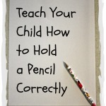 Correct Pencil Grip | Learn through Play - pre-K | Scoop.it
