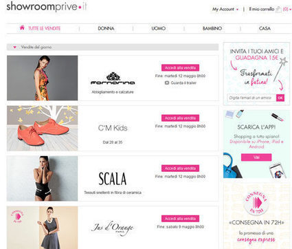 È la moda il settore trainante dell' e-commerce | THE FASHION TRIBUNE | Scoop.it