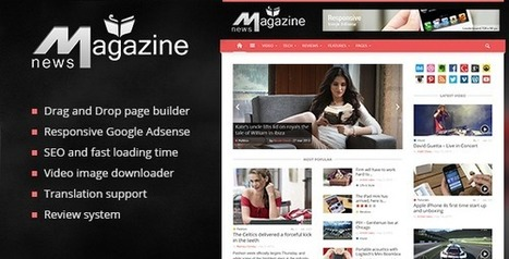 Best WordPress Magazine Themes for 2014 | Web Design Spider | Free WordPress Themes | Scoop.it