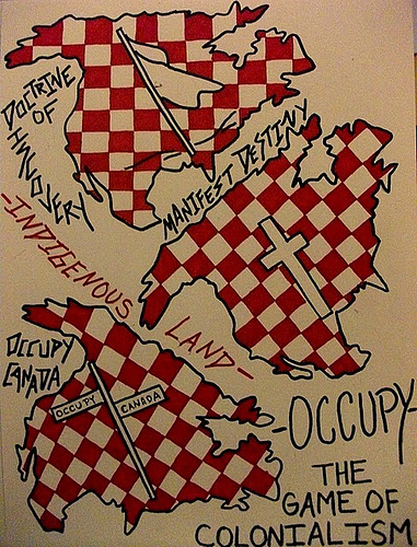 "OCCUPY WALL STREET: The Game of Colonialism and further nationalism to be decolonized from the ""Left"" 