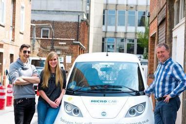 Bruxelles: l'ULB teste une voiture électrique propulsée à l'hydrogène | L'actualité de l'Université libre de Bruxelles (ULB) | Scoop.it