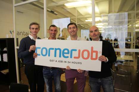 CornerJob Fires Up Its Blue-Collar Jobs Marketplace App With $10M Series A | SOLOMO : Estrategias de Marketing de Redes Sociales, Ventas  Locales y Móviles | Scoop.it