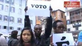 """Roma, flash mob dei 'nuovi italiani': """"Approvate in fretta la legge ... - Il Fatto Quotidiano   Riforma legge cittadinanza   Scoop.it"""