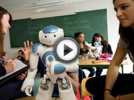 NAO, le robot français devenu une star dans les écoles du monde entier | Geeks | Scoop.it