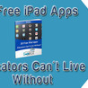 iPads in the Classrooms and Libraries