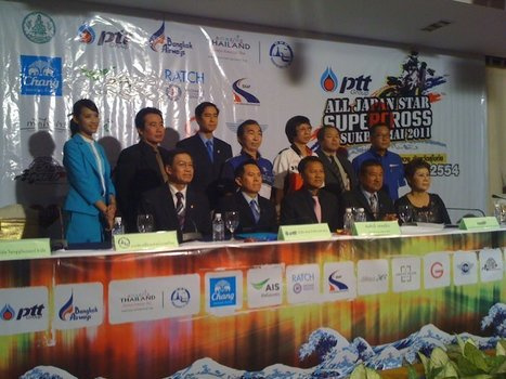 PTT All Japan Star Supercross in Sukothai 2011, Press Conference | FMSCT-Live.com | Scoop.it