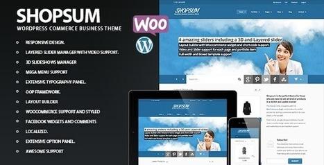 Shopsum - Responsive Commerce Business Solution (eCommerce) Download | eCommerce Templates Download | Scoop.it