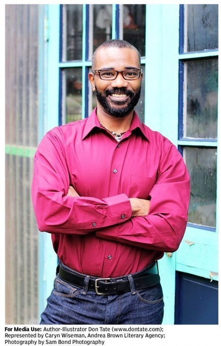 Don Tate » Biography - Children's Book Author and Illustrator   K-12 School Libraries   Scoop.it