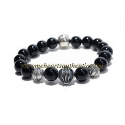 Black And Sterling Silver Beads Bracelet By Chrome Hearts [Black Sterling Silver Beads Bracelet] - $209.00 : Authentic Eyewear,Clothing,Accessories By Chrome Hearts! | my trend | Scoop.it