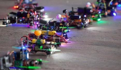 Drone Racing : un sport de geeks façon Guerre des Etoiles   HiddenTavern   Scoop.it