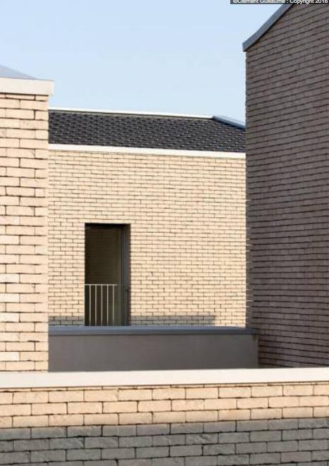 De nouvelles utilisations pour la tuile terre cuite | Architecture et Construction | Scoop.it