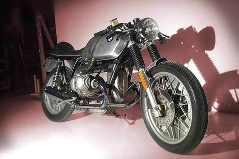 "BMW R100 ""DOPPIOZERO"" by RE CYCLES 
