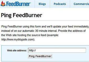Mon flux rss ne s'actualise plus automatiquement sur FeedBurner   Time to Learn   Scoop.it