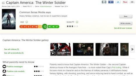 Common Sense Media Warns Parents (And Kids) of Adult Content in ... | movie reviews | Scoop.it
