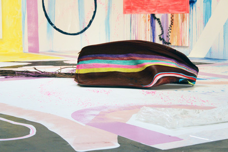 """Juxtapoz Magazine - IN L.A.: Sarah Cain """"Freedom is a Prime Number"""" @ Honor Fraser 