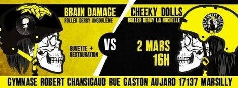 Scrimmage Cheeky Dolls VS Brain Damage le 02 mars | Roller ... | Derby News | Scoop.it