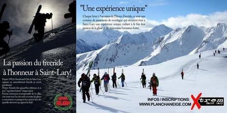 XTREM FREERIDE : 14 et 15 mars 2015 à Saint-Lary !   Actualités   Station de ski Saint-Lary   SAINT LARY   Scoop.it