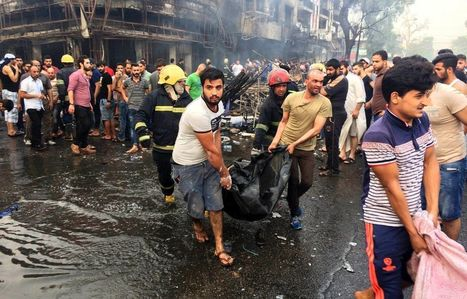 More than 100 killed, scores wounded in bombings across Baghdad | The Pulp Ark Gazette | Scoop.it