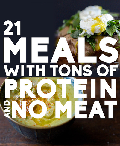 21 Meals With Tons Of Protein And No Meat | Interior Decorating Ideas | Scoop.it