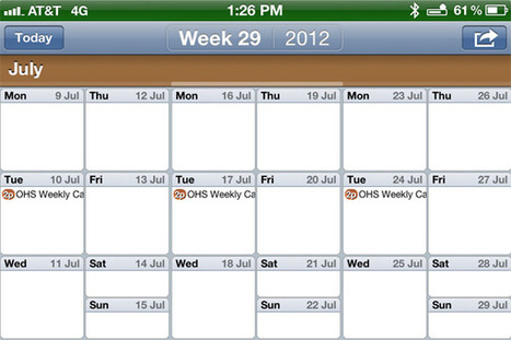 With New Features, Easy Calendar Is A Great Way To Manage A Busy Schedule | iPads in Education Daily | Scoop.it
