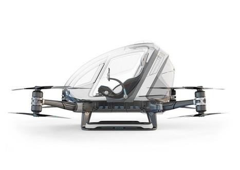Autonomous Passenger-Carrying Drone Approved for Flight Testing | Post-Sapiens, les êtres technologiques | Scoop.it