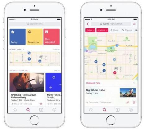 Facebook Events est la nouvelle application autonome pour les événements | Applications Iphone, Ipad, Android et avec un zeste de news | Scoop.it