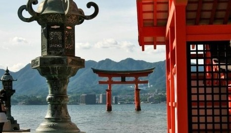 Japan Holidays Amazing Floating Torii Gates In Miyajima Island | asia holidays destination picture | Beauty building, park, and city in asia | Scoop.it