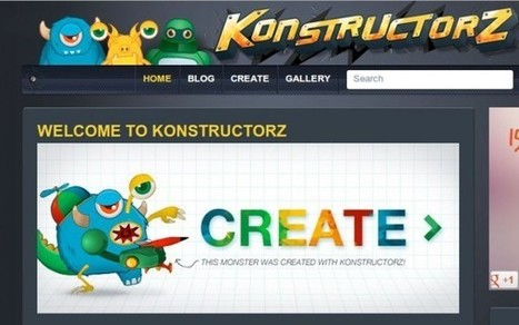 konstructorz, para diseñar robots, dragones, personajes… | XIMENA | Scoop.it