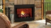 BBV Series B Vent Gas Fireplace by Wilshire Fireplace Shop | Fireplace Glass Doors | Scoop.it