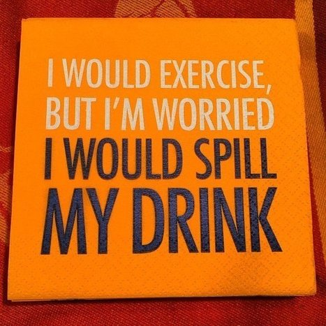 Spill My Drink Cocktail Napkins   Shut up and take my money!   Scoop.it