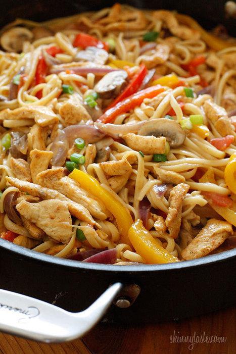 #RECIPE - Cajun Chicken Pasta on the Lighter Side | Food in Umbria | Scoop.it