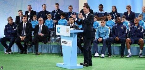 Man City open £200m training complex | GCSE Physical Education | Scoop.it