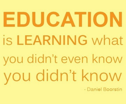 """Twitter / TeamKano: """"Education is learning what ... 