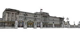 Buckingham Palace by gui917 - 3D Warehouse | 3D Model | Scoop.it