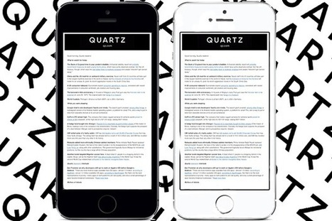 How to build a successful newsletter: advice from Quartz | Audiences Engagement in Newsroom | Scoop.it
