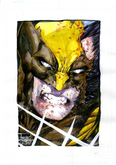 Wolverine by Philip Tan , in Kirk Dilbeck's 3-Wishes presents: Philip Tan Comic Art Gallery Room - 1195461 | Savvy Comics | Scoop.it