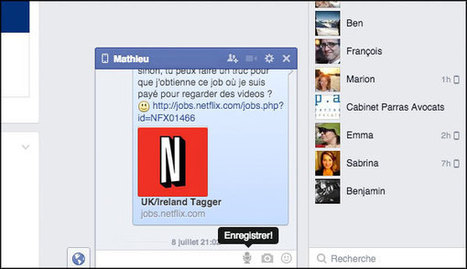 Messagerie Facebook : réglages, bonnes pratiques et astuces | Literacy in the algorithmic medium | Scoop.it