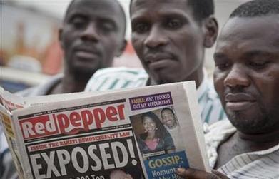 Ugandan newspaper prints list of '200 top' gays   Refugees, AusPol, and Everyday Bullshit   Scoop.it