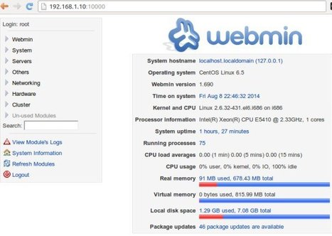 How to install webmin on centos 6 | Centos | Scoop.it