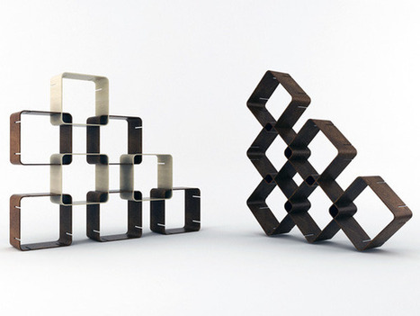 Smartsquare - Shelving System by Pietro Russomanno » Yanko Design | What Surrounds You | Scoop.it