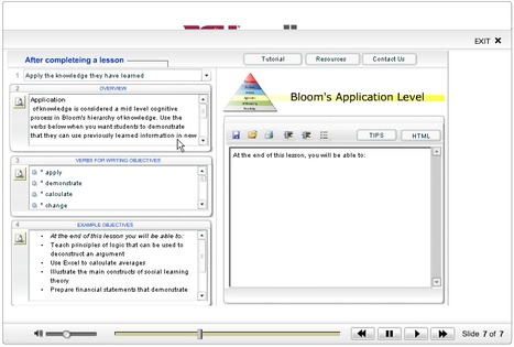 Instructional Objectives Builder: Online Tool for Writing Objectives | EDUCACIÓN 3.0 - EDUCATION 3.0 | Scoop.it