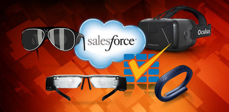 CLOUD COMPUTING Salesforce Pushes Wearables for the Enterprise - CIO Today | All things Salesforce | Scoop.it
