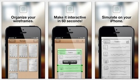 Nifty iPhone App Allowing You To Turn Hand Drawn App Mockups Into Interactive Prototypes | iOS & OS X Development | Scoop.it
