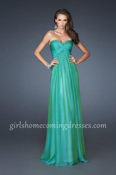 Jungle Green Strapless Sweetheart Long Homecoming Dress By La Femme 18935 [La Femme 18935] - $169.00 : Girl's Dresses   2014 Dresses for Homecoming   BCBG & Herve Leger   Scoop.it