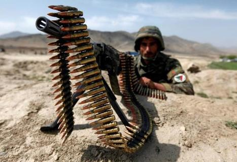 Waste fears as Afghan soldiers cash in on spent ammo | Upsetment | Scoop.it